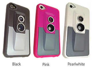 Hawk-AV iPhone Case with Attachable Lens